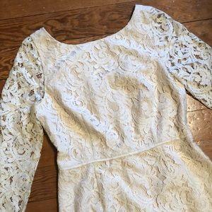 J Crew Lace Sheath Dress